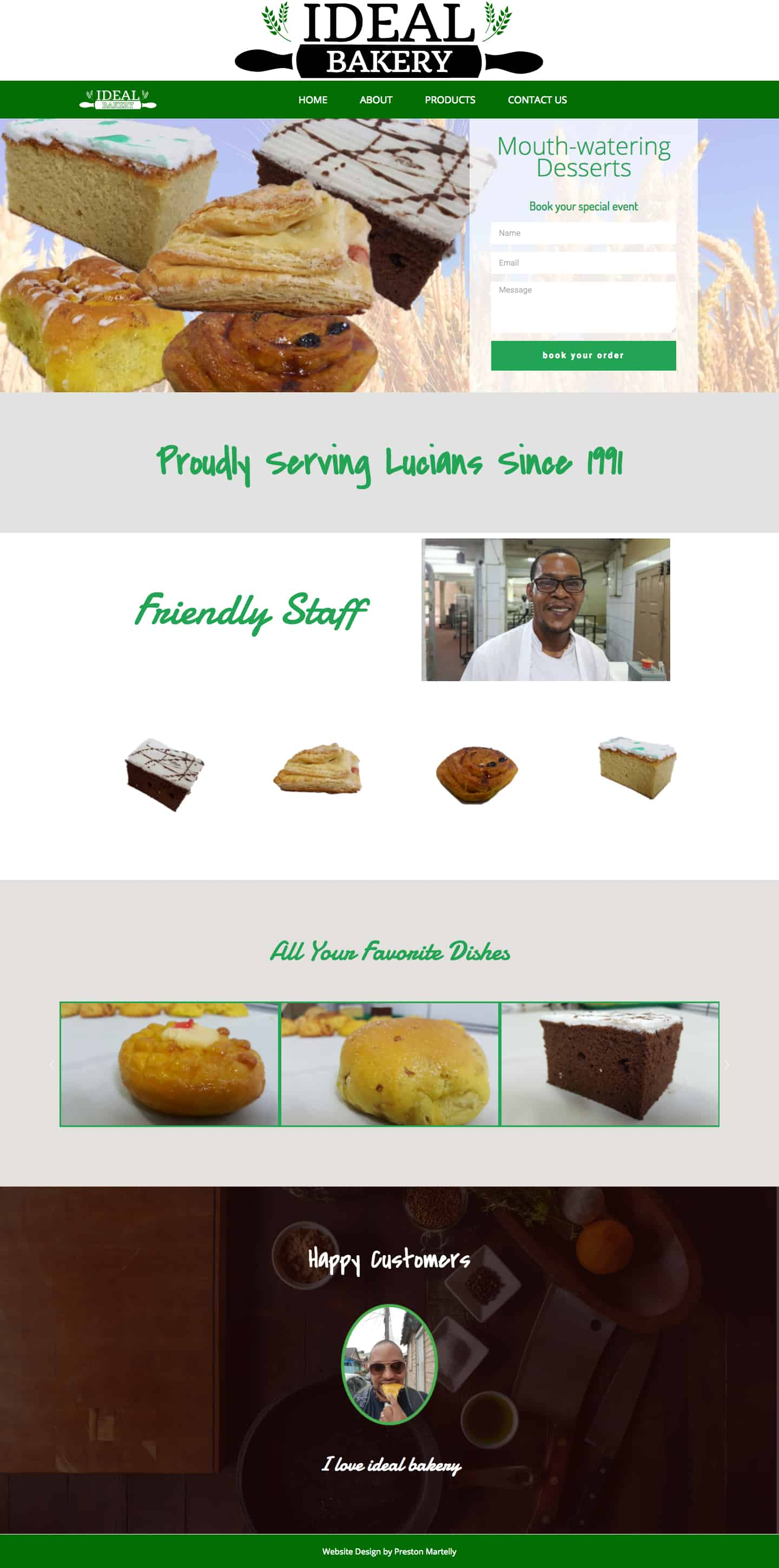 Ideal Bakery – Finest Quality Bread and Pastries (1)