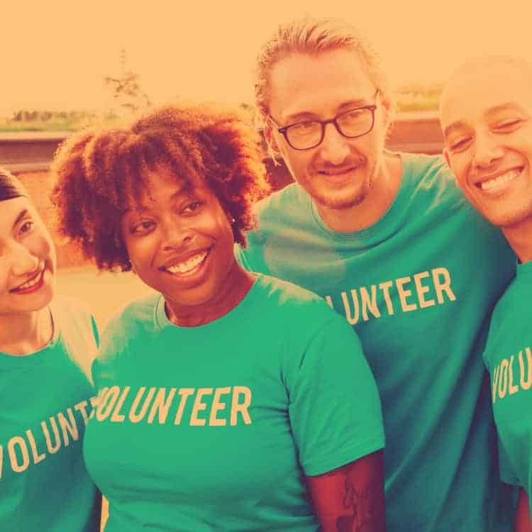 Volunteer donation
