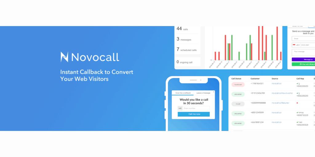 Novocall Callback Widget