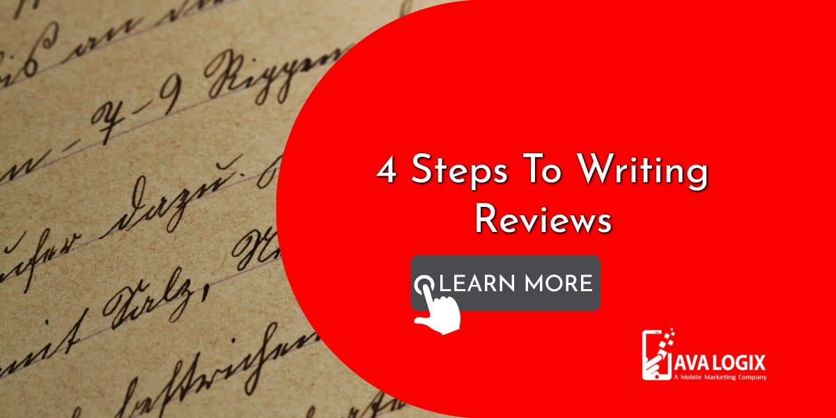 1-4 Steps To Writing Reviews