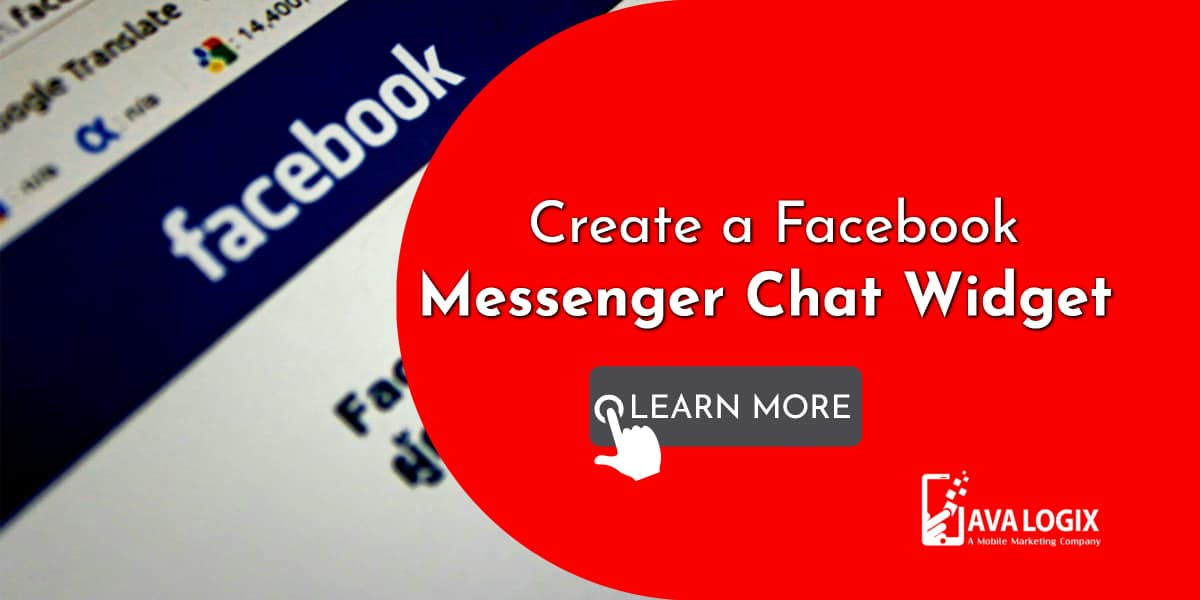 1-Create a Facebook Messenger Chat Widget On Your Website