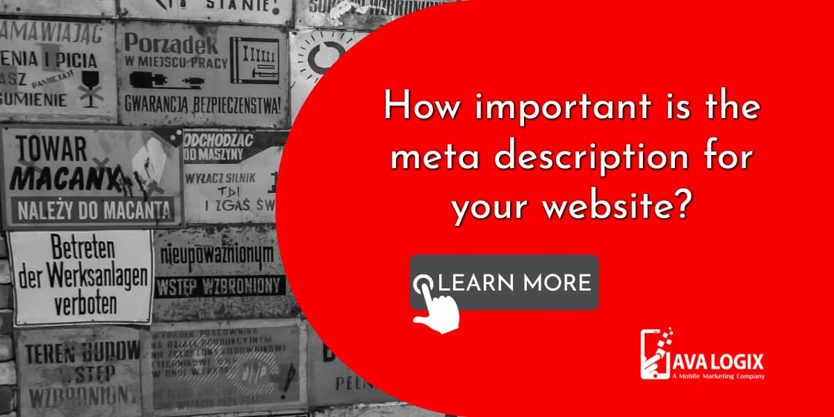 1-How important is the meta description for your website_