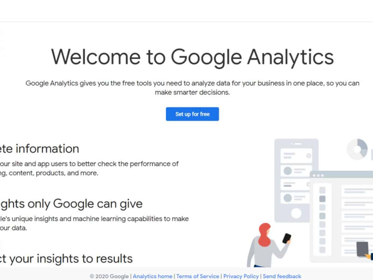 how to create google analytics account