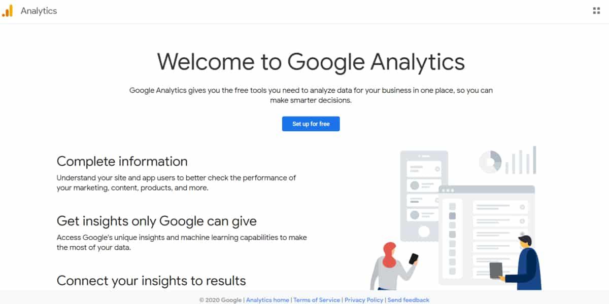Create A Google Analytics Account