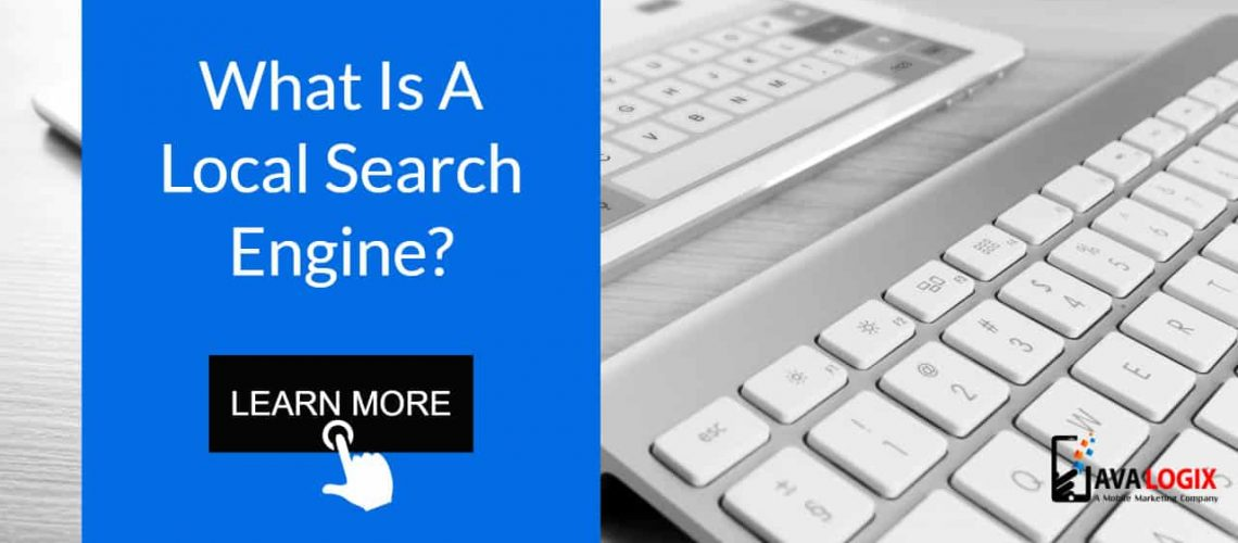 What is a local search engine?