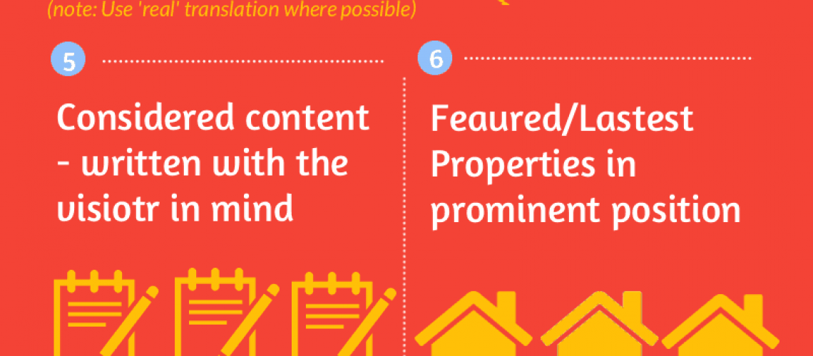 what makes a great real estate website